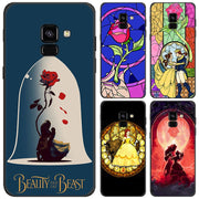 Beauty And The Beast Phone Case For Samsung Galaxy J4 J6 Plus J8 2018 Soft Silicone Black Case For Galaxy A6 A8 Plus 2018