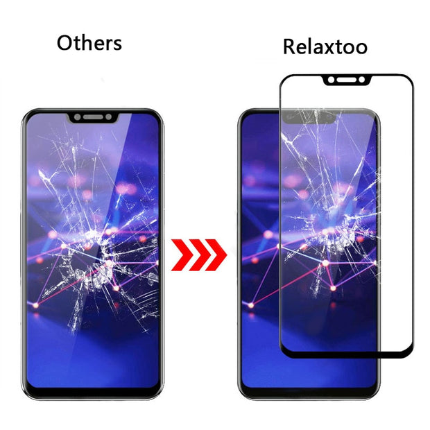 Case For Huawei Mate 20 Lite Full Cover Tempered Glass For Huawei P20 Pro Screen Protector P20 Lite Pro Plus Protective Film 9h