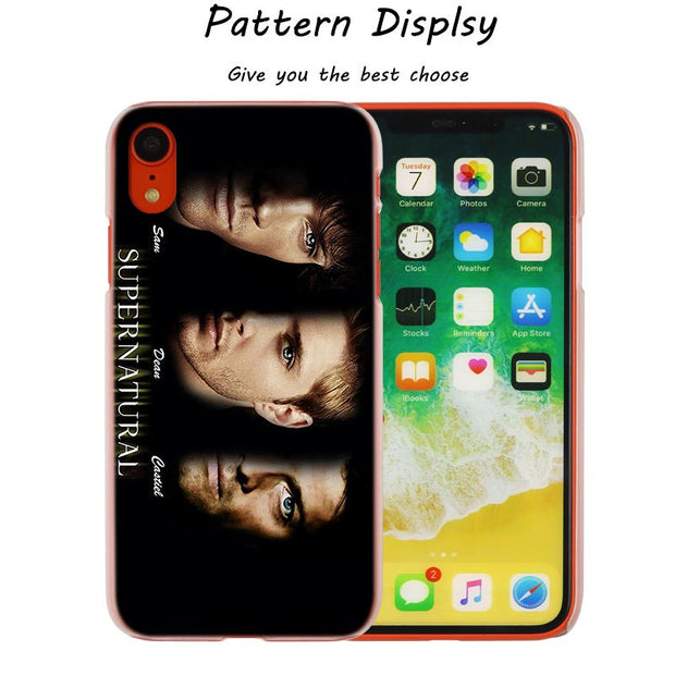 Fashion TV Show Supernatural Hot Fashion Transparent Hard Phone