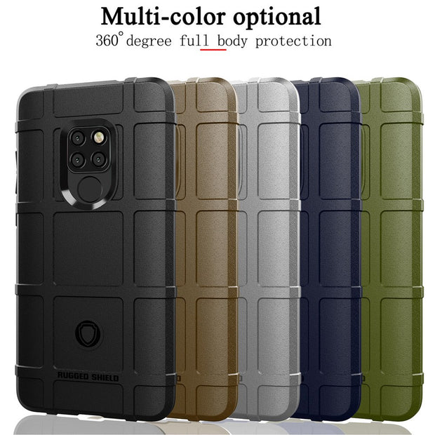 For Huawei Mate 20 Case Soft TPU Silicone Rugged Shield Back Cover For Huawei Mate 20 X 20X Case Anti-knock Armor Phone Cover