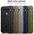 For LG LG V40 ThinQ Case Soft Silicone Rugged Shield Back Cover For LG V40 V405QA7 V405UA V405TAB Case Anti-knock Armor Cover