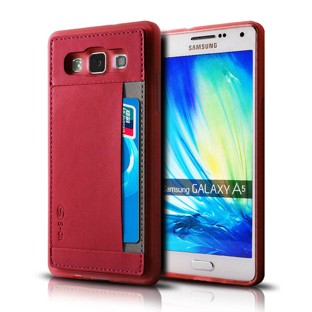 For Samsung Galaxy A5 SM-A500 SM-A500F SM-A500H Phone Case For A5 With Card Holder Perfect Protection Free Shipping