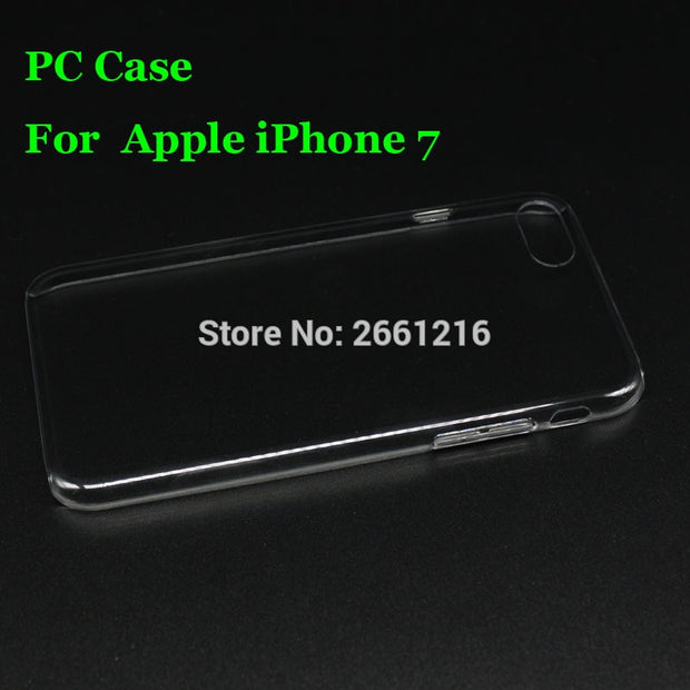 I7 Hard PC Case Ultra Thin Clear Hard Plastic Cover Protective Skin For Apple IPhone 4.7 Inch