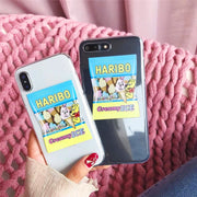 Ice Cream Phone Case For Iphone X Case For Iphone 6 6S 7 8 Plus Back Cover Cute Cartoon Love Heart Letter Cases Soft Capa