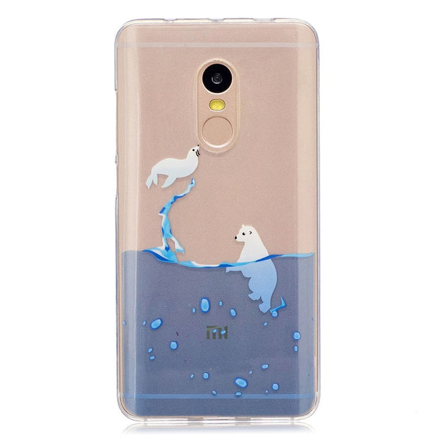 "Luxury Case For Xiaomi Redmi Note 4 Red Mi Note4 Case Phone Leather Cover For Xiao Mi Red Mi Note 4 5.5"" Cases TPU Soft Shell"