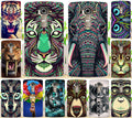 (not For LG G4 )Cool Tiger Lion Wolf Cat Animal PC Hard Painted Mobile Phone Case Cover Fundas For LG G4 Beat G4S Cases Shell