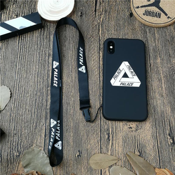 c167fb1e0cd2 Previous. Triangle PALACE Street Phone Cover Case For Iphone X XS MAX XR 10  8 ...