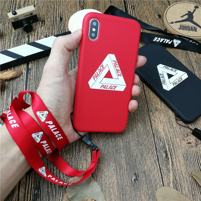 06e90f9ba2be Triangle PALACE Street Phone Cover Case For Iphone X XS MAX XR 10 8 7