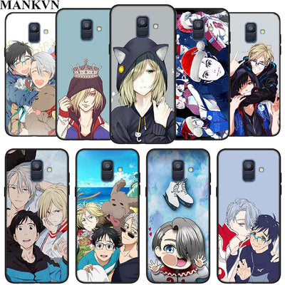 Yuri On Ice Yuri Silicone Phone Case For Samsung Galaxy A6 A6+ A8 A8+ 2018 A8 A9 Star Lite Soft Black Coque Fundas Case