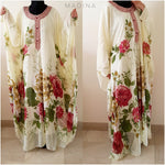 KAFTAN FLOWERS WARDA