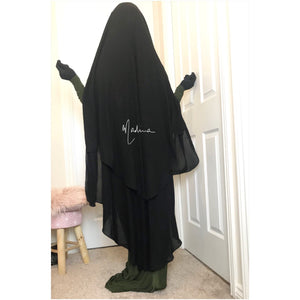 NEW MAXI NIQAB SUTRA MEKKA (all colours )