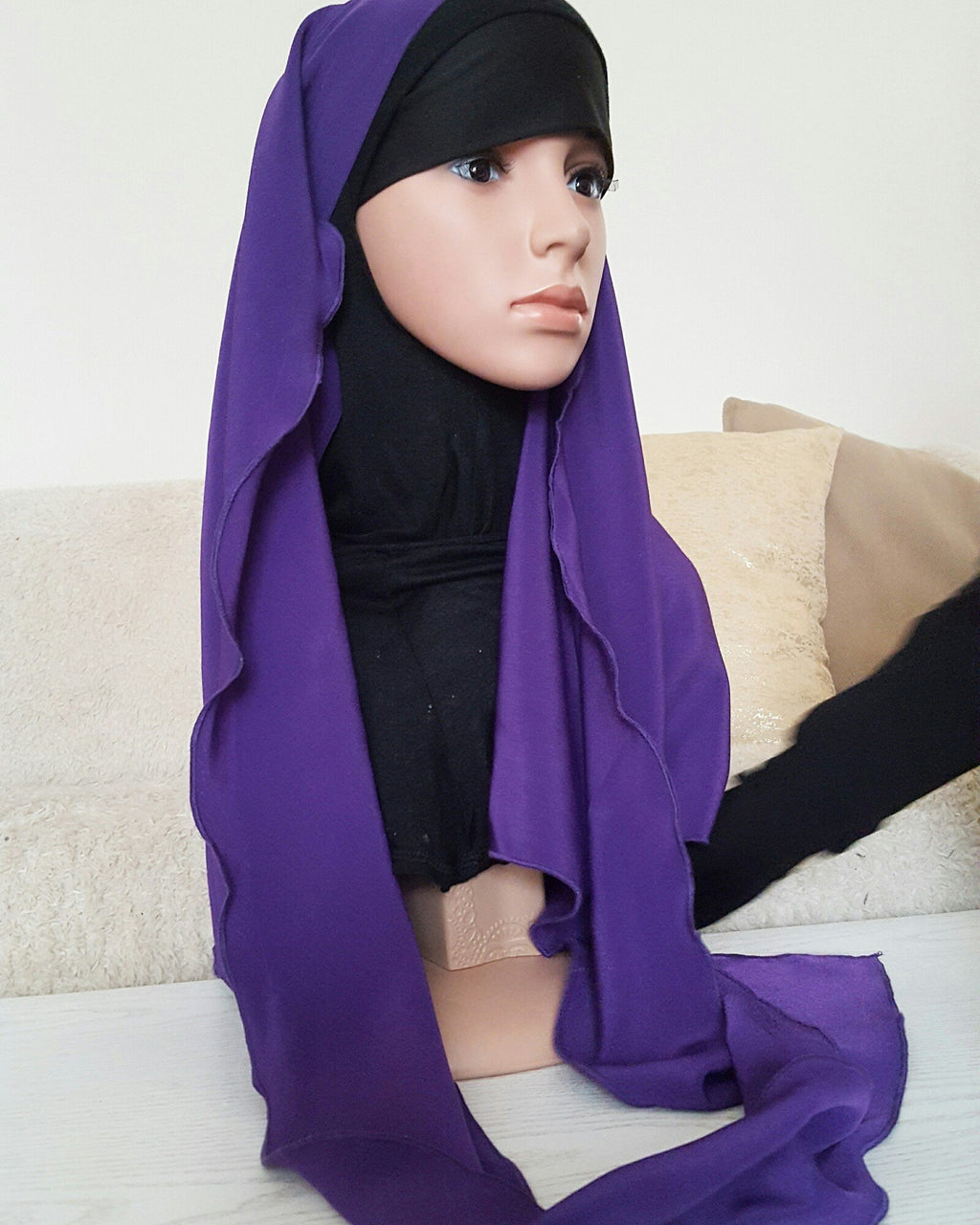 EASY HIJAB GIRL plum