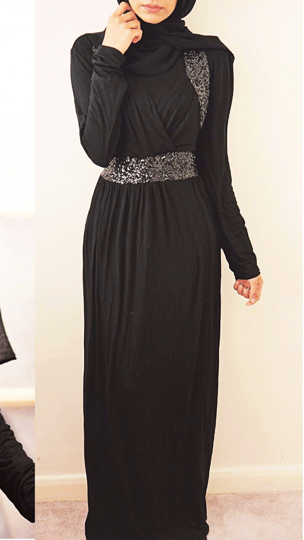 MAXI DRESS GLITTER TASNIM / last chance