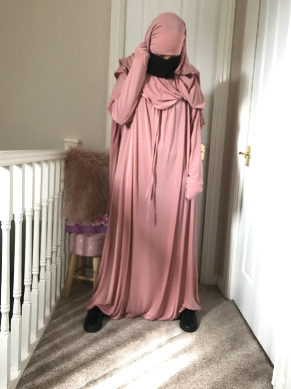 ABAYA SERWAL (CLOSED) COMFORT ASMA (all colours )