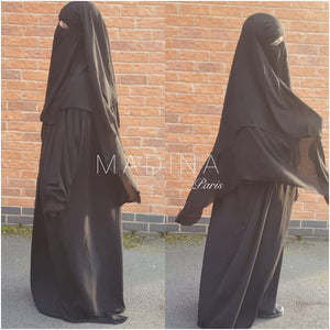 NEW MAXI NIQAB SUTRA RYAD 3 LAYERS 1m30 triangle shape