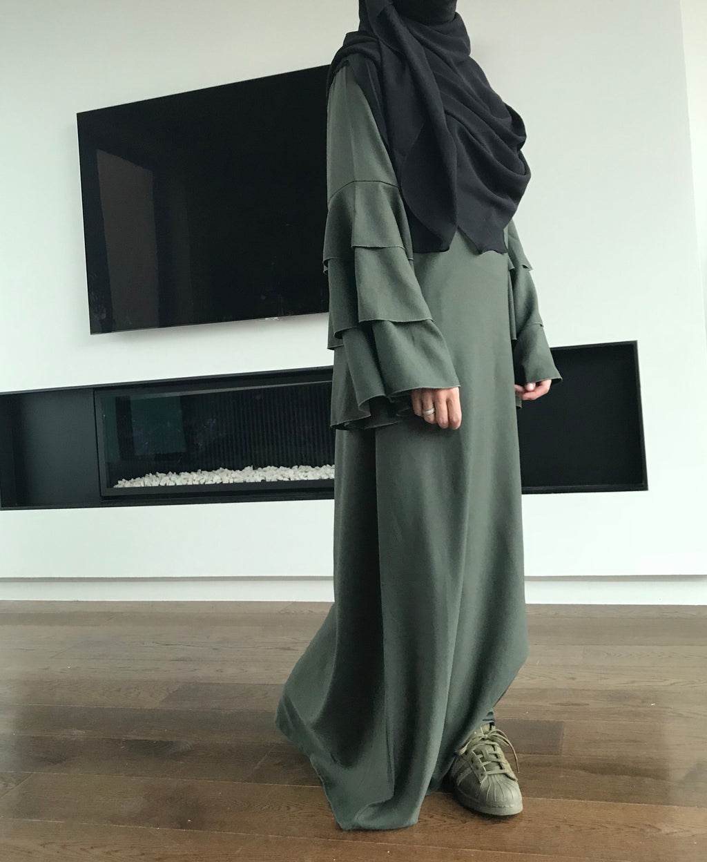 ABAYA BAHIRA WAVY (all colours )
