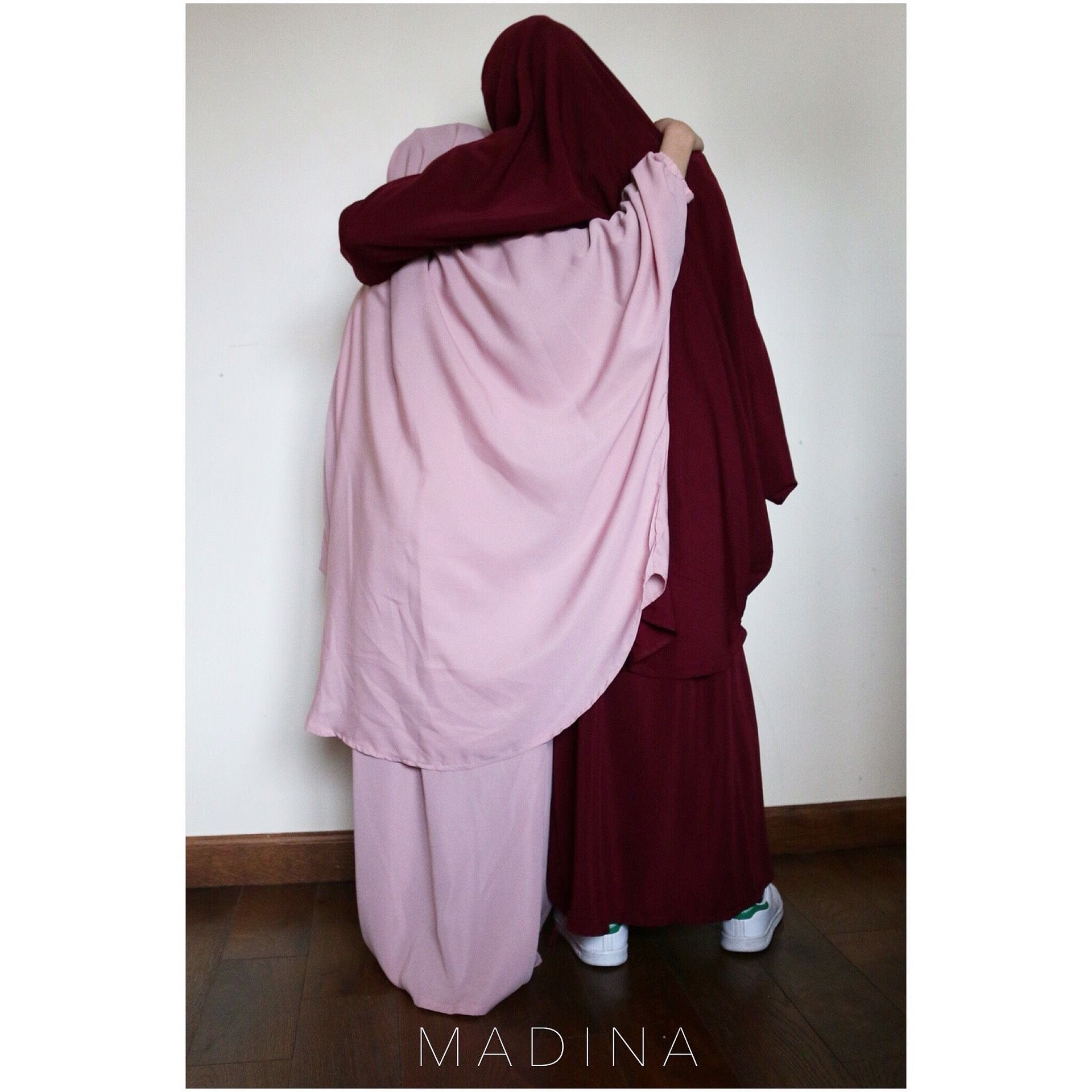 JILBAB GIRL SKIRT or SIRWAL PINK
