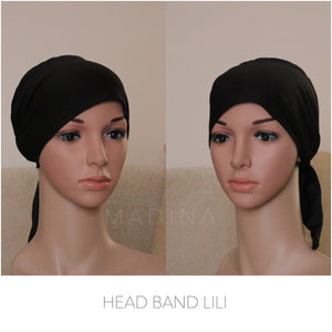 HEAD BAND TO TIE LILI (ALL COLORS)