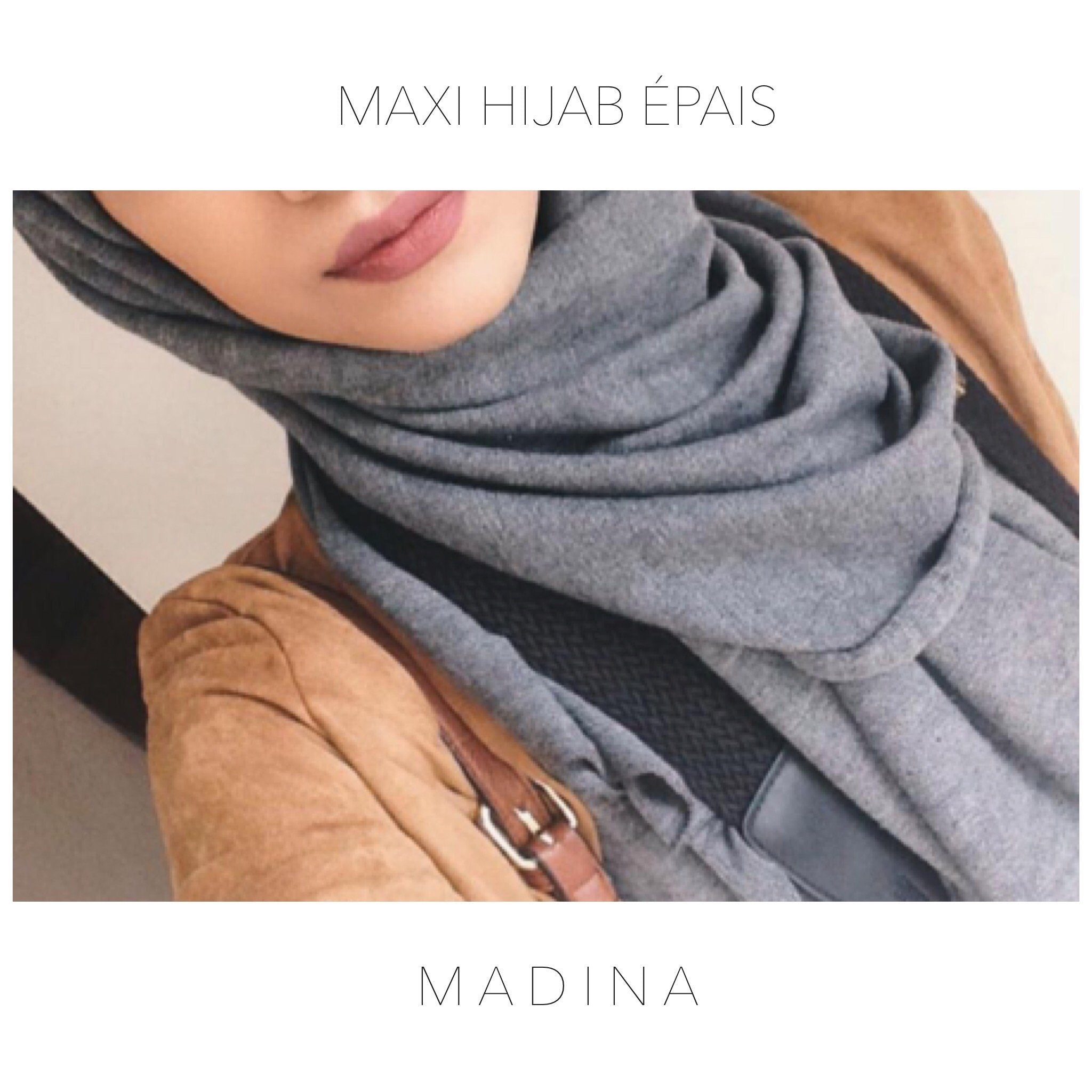 MAXI HIJAB SABINA WINTER KNIT