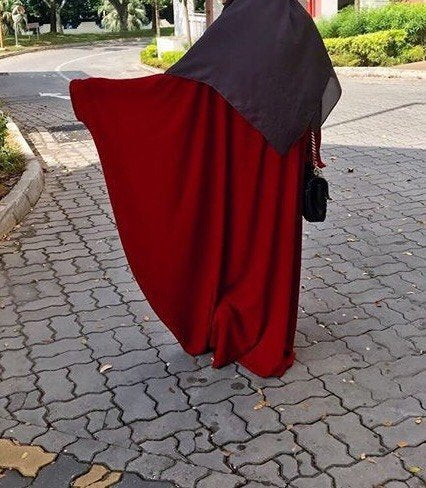 THE ABAYA SAHARA RED TAN (new shade )