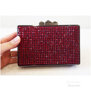 POUCH CRISTAL RED