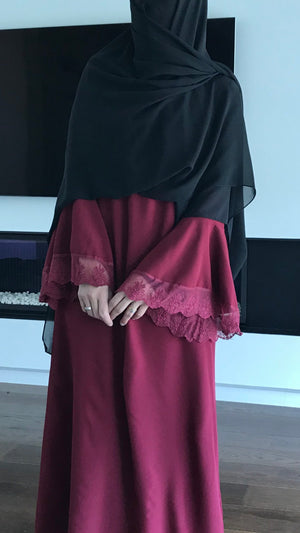 NEW THE ABAYA LACE (all colours )