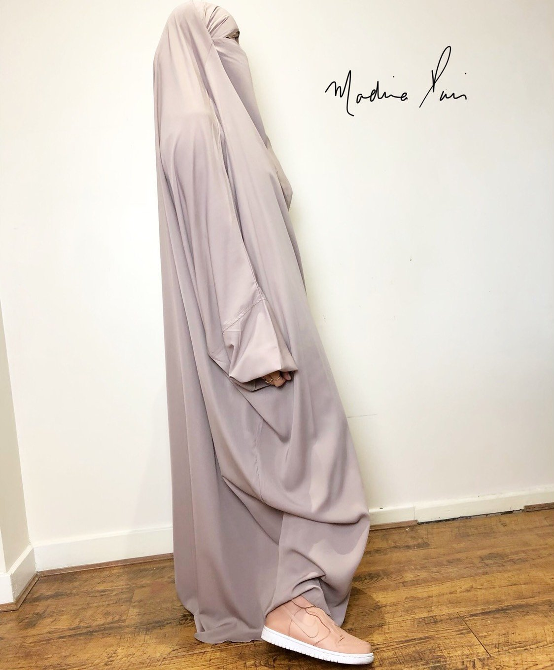JILBAB CLASSICAL 1P or 2P SOFT MOCHA