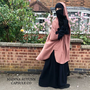 NEW ABAYA+CAPE SET KAWTHAR