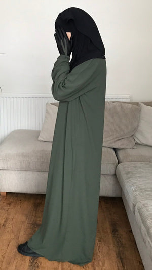 NEW ! Abaya Hayya SOFT LIGHT Khaki