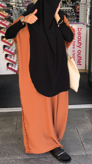 NEW ABAYA BUTTERFLY POMPOMS (all colours )