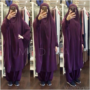 JILBAB CLASSICAL 2 pieces Plum