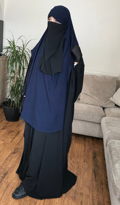 AL MASTURAH CAPE/NIQAB DARK BLUE