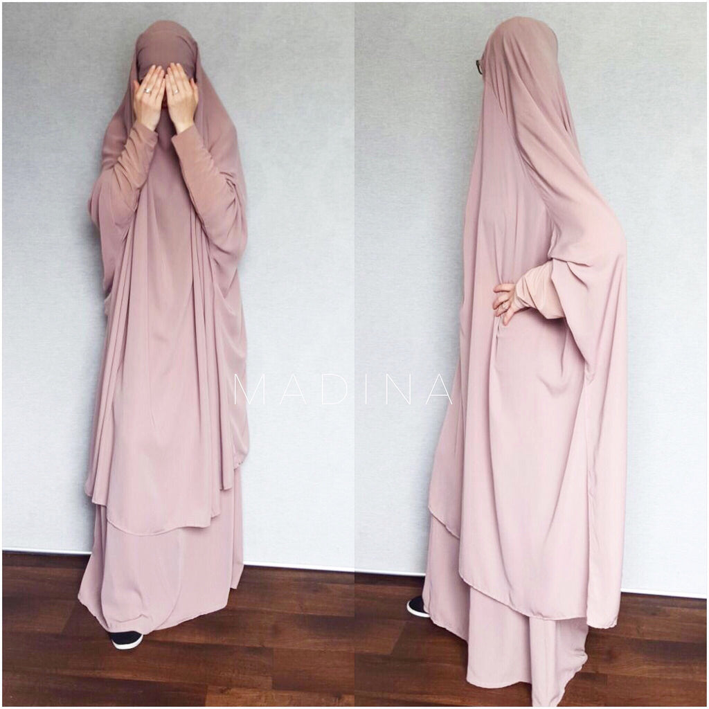 JILBAB AMANA SKIRT OR SERWAL Dark Beige
