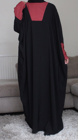 NEW BUTTERFLY ABAYA THE TAN