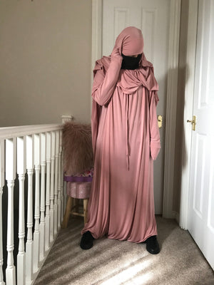 ABAYA SERWAL (CLOSED) COMFORT ZAYNAB  (all colours )