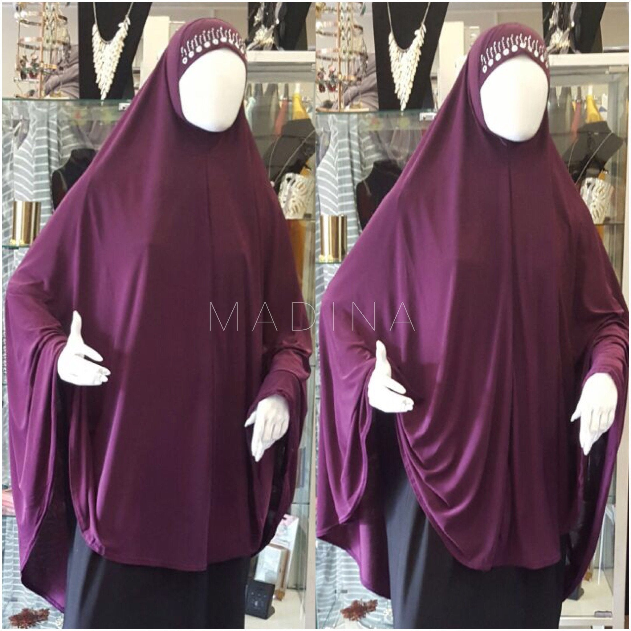 MAXI CAPE  SALAT decorated (last chance)