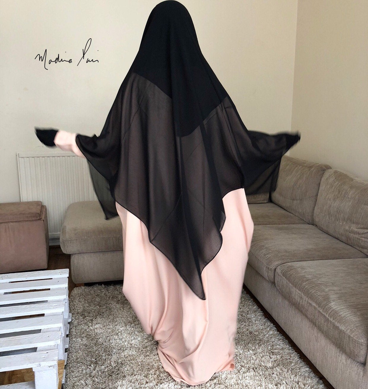 NEW ABAYA BUTTERFLY SOFTNESS (special tall )