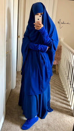 Jilbab Urbana Royal Blue