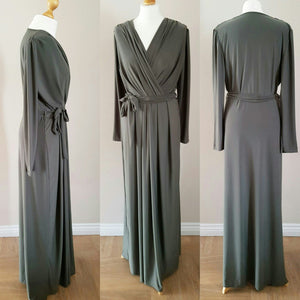 NEW MAXI-DRESS  CROSS TOP