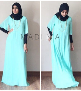 NEW ABAYA CHIFFON SUBLIMA (all colors)