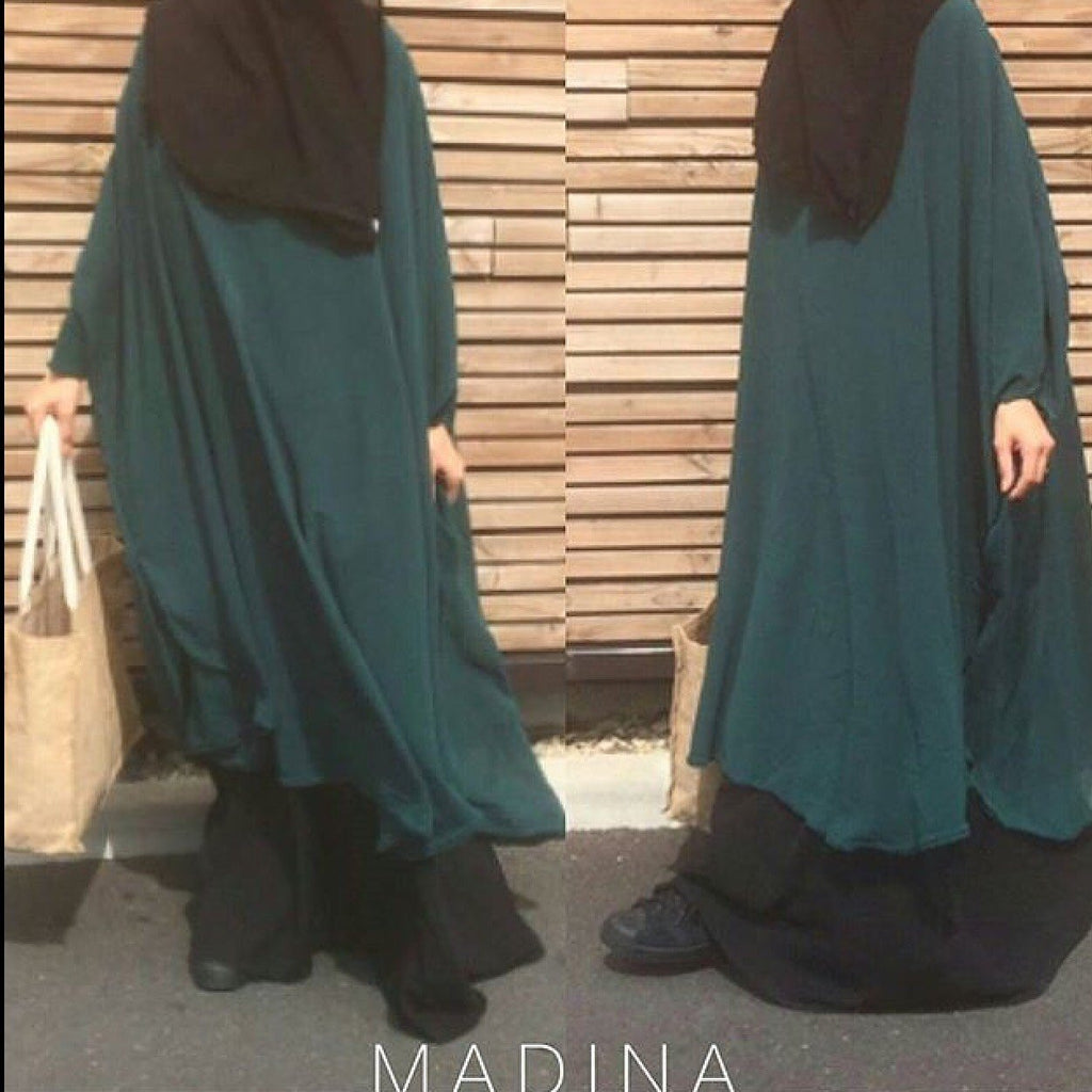 CAPE MASTOUR MADINA FOREST green