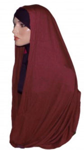 MAXI SNOOD HIBAB COTTON JERSEY