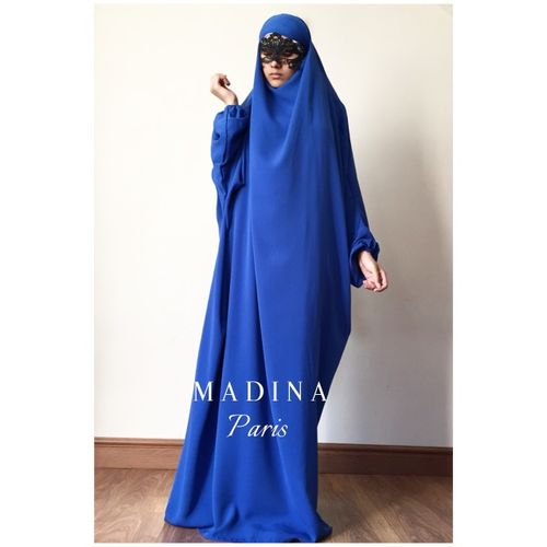 JILBAB  CLASSICAL 1 PIECE royal blue