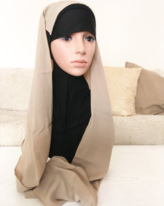EASY SNOOD GIRL beige