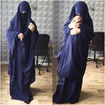 JILBABE 2p MUMMY MATERNITY NAVY  (all colours)