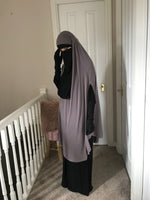 JILBAB TOP CAPE COMFORT ASMA (all colours )