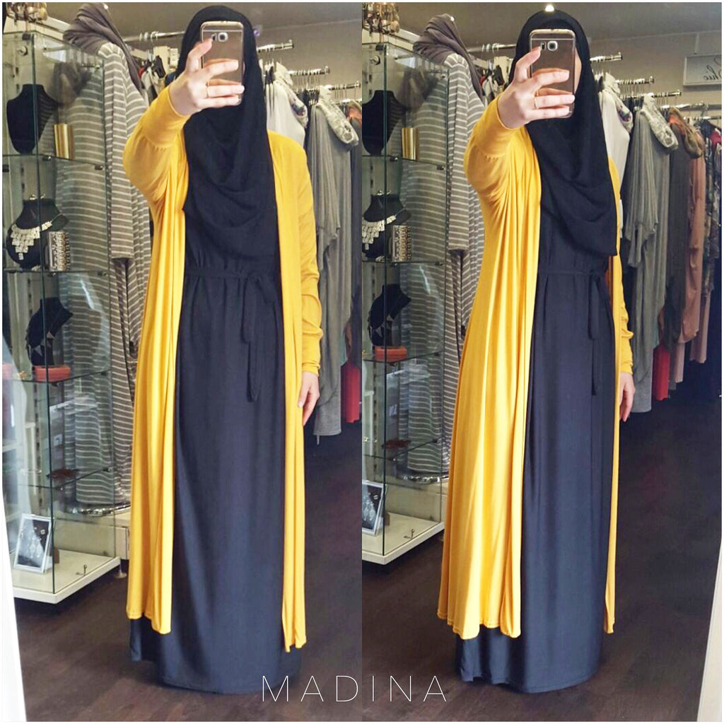 MAXI CARDIGAN  FAHIMA (all colors)