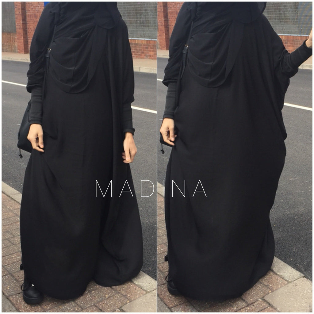 THE PAPILLON ABAYA NOOR Black