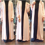 MAXI CARDIGAN CHIFFON  (all colors )