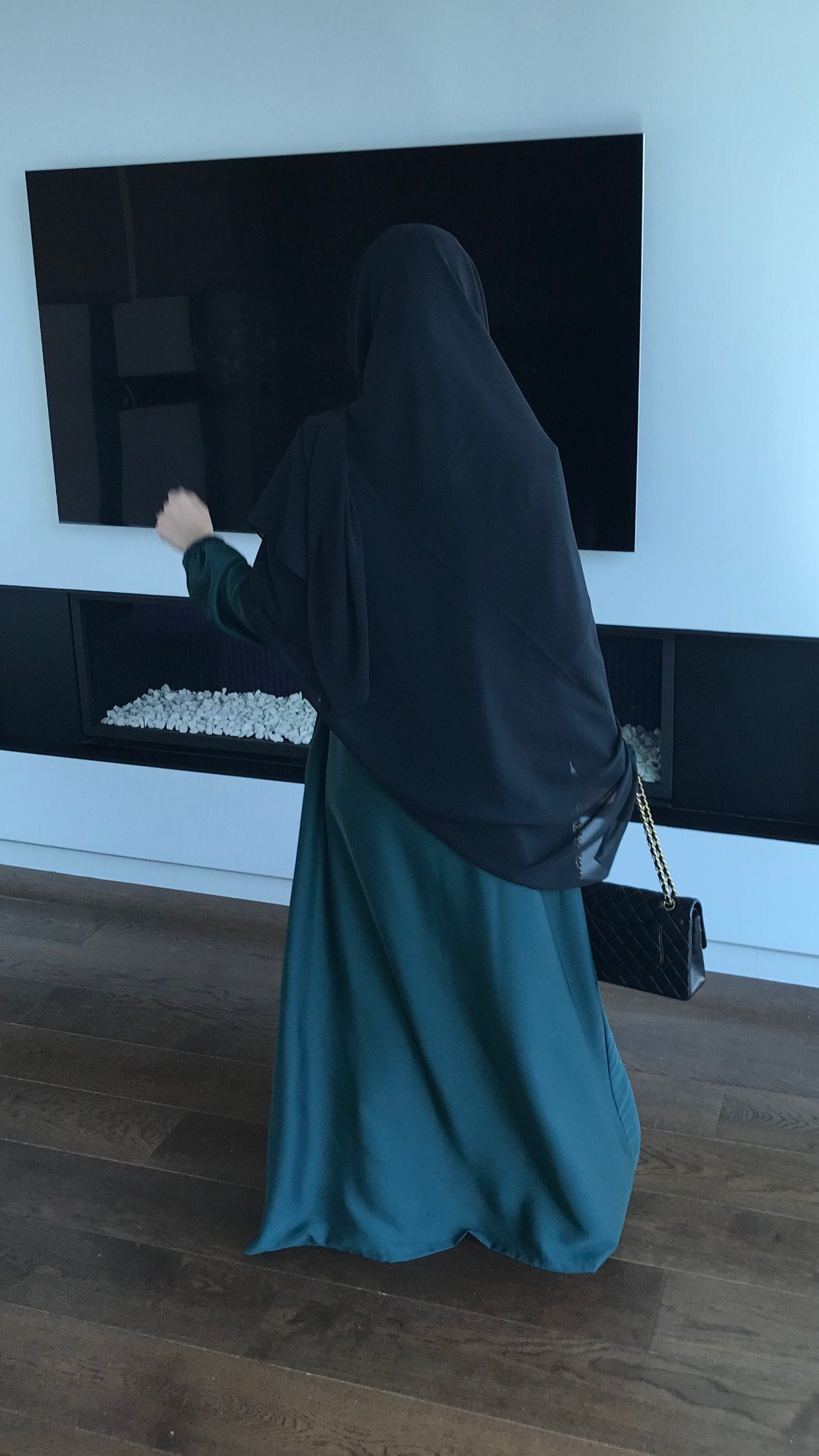 NEW ABAYA NIDHA ELYA Green